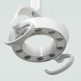 the Belmont 900 series light can be integrated with your treatment centre or ceiling mounted seperately