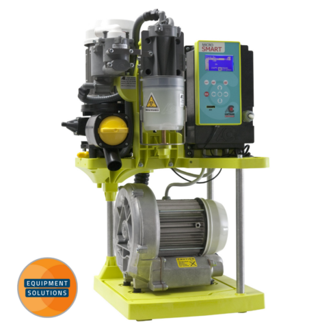 Cattani Micro Smart Suction Pump delivers a high performance with low power consumption.