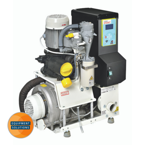 Cattani Turbo Smart 2V Suction Pump is a reliable motor