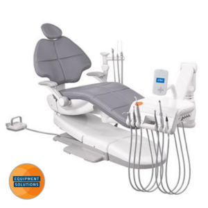 The A-dec 500 Dental Chair with traditional hanging delivery.