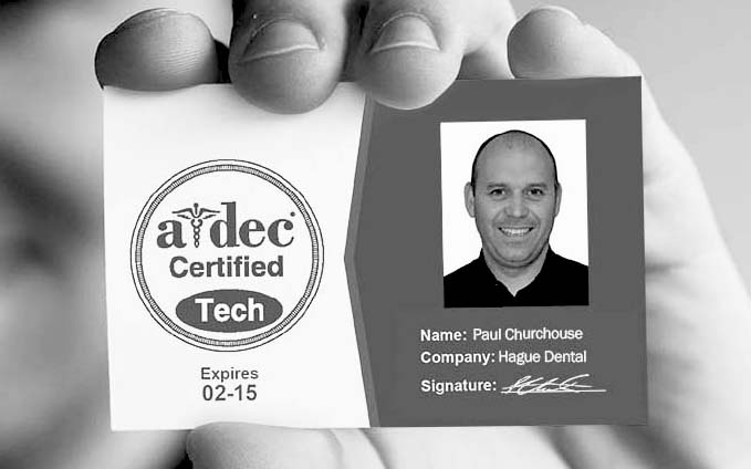 a-dec dental chair and certified technician