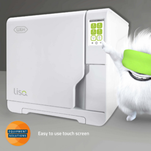 W&H Lisa autoclave has an easy to use digital touchpad