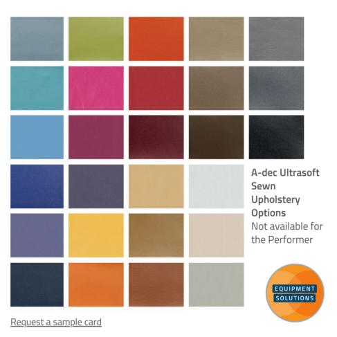 A-dec Ultrasoft Upholstery Card