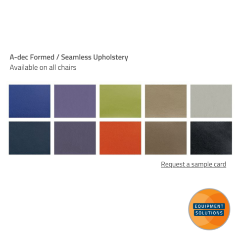 A-dec Seamless / Formed Upholstery Card