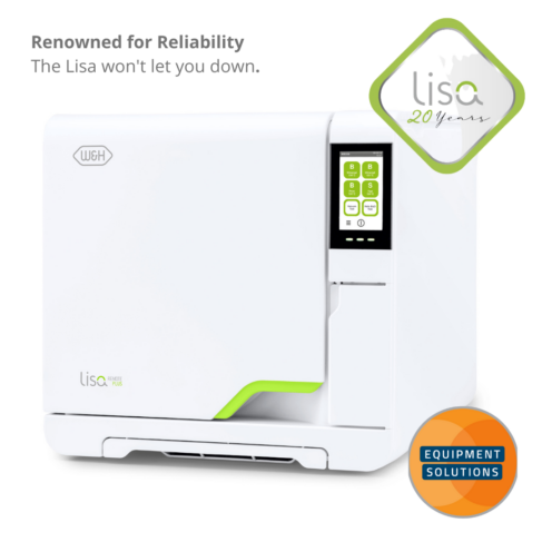 The W&H Lisa has set the benchmark for vacuum sterilisers over the last 20 years.