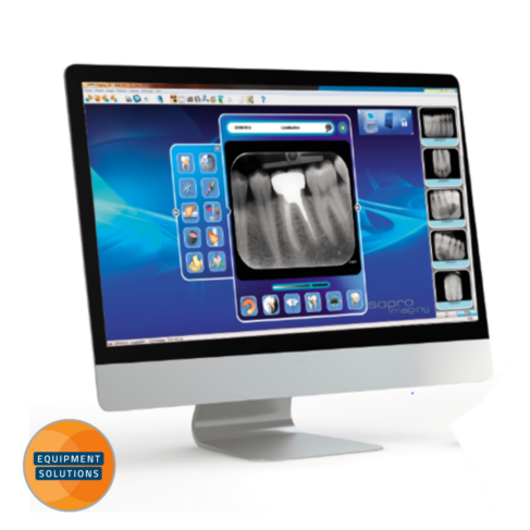 The Acteon PSpix Image plate scanner pairs with Acteon's easy to use software
