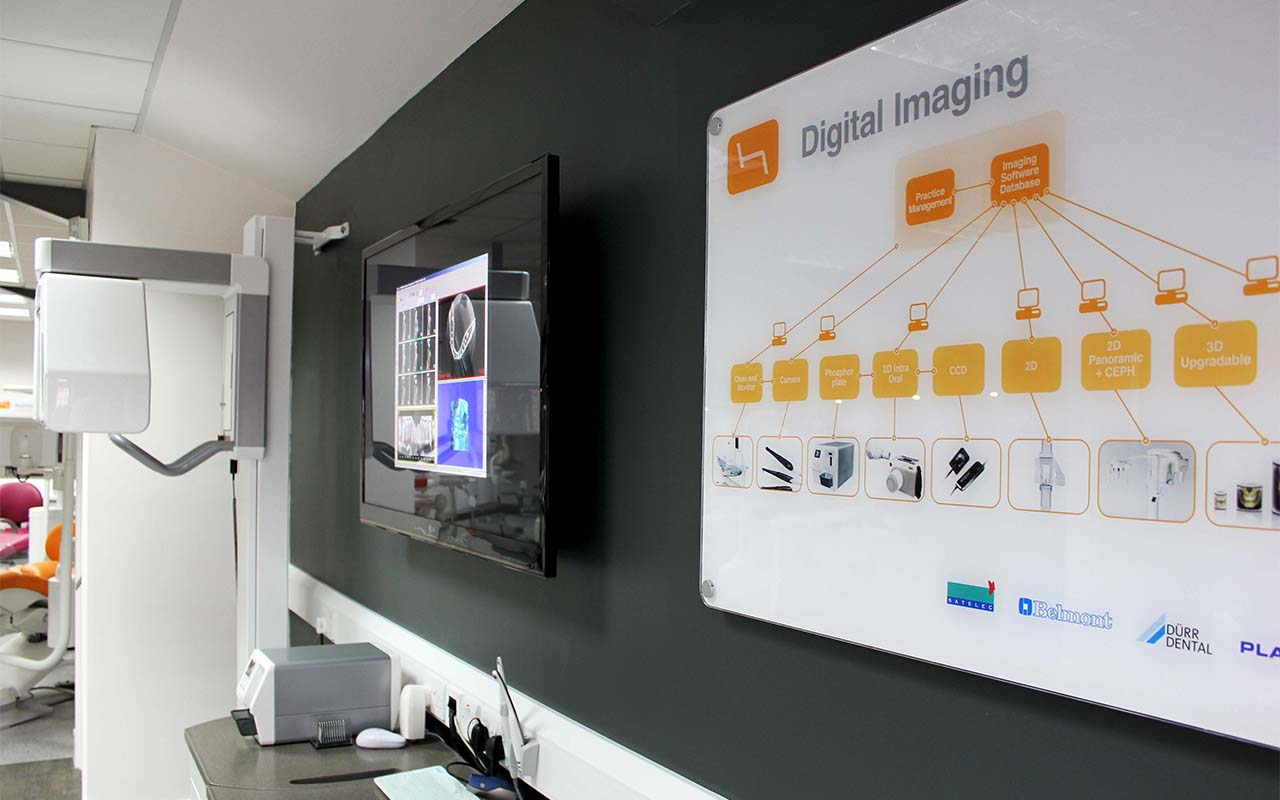 digital radiography showroom