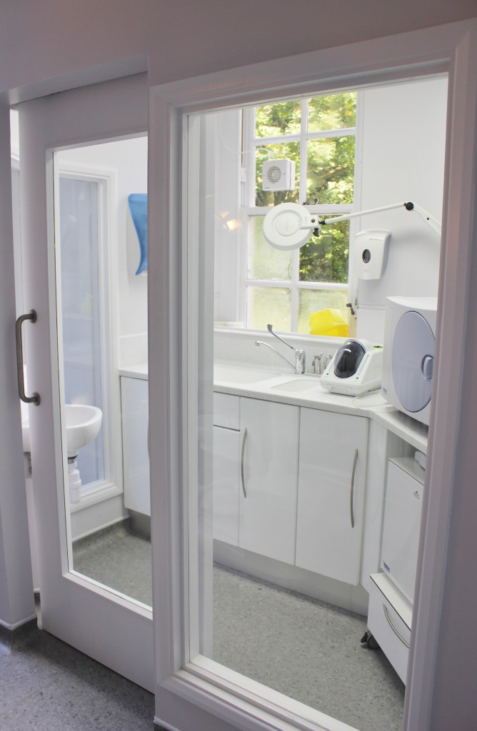 dental decontamination room design