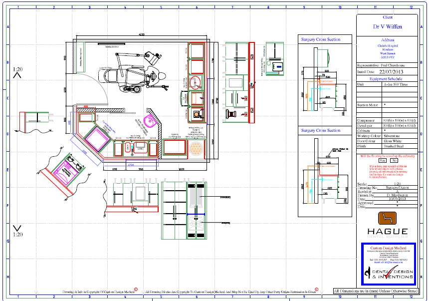Hague dental dental sterilisation room design Room layout design online