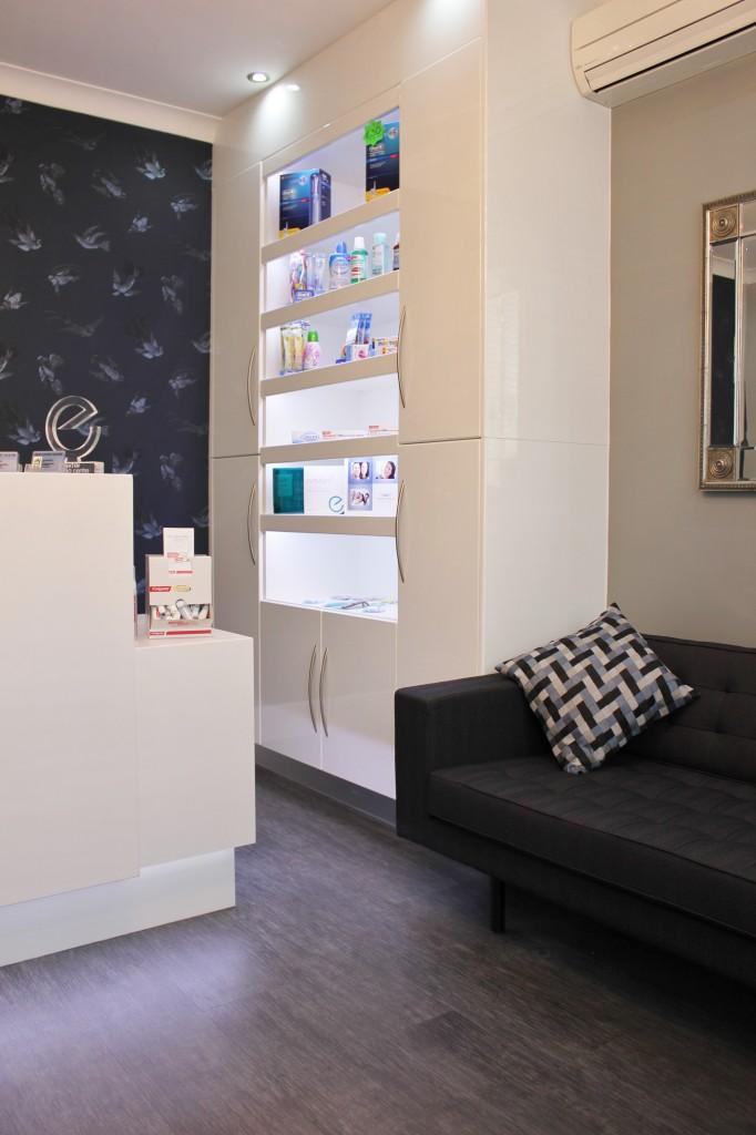 Dental reception design