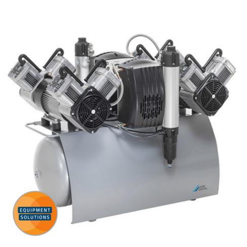 Dürr Quattro is an oil-free compressor