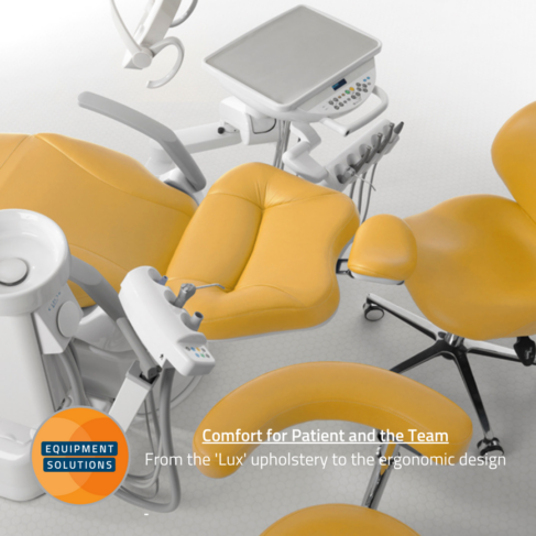 Belmont Compass Dental Chair offers comfort and ergonomics for the team and patients