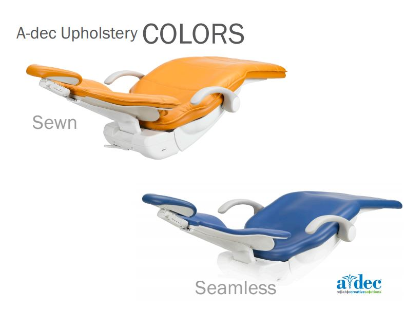 A Dec Dental Chair Upholstery Colours A Dec Dealer