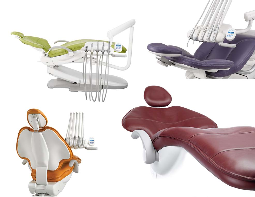 The full range of A-dec dental chairs