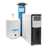 The Eau Flow is a dental reverse osmosis unit that has an easy to change filter