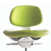 The A-dec 521 dental stool is superior comfort
