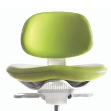 The A-dec 521 dental stool is superior comfort