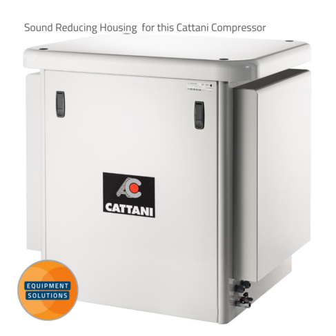 Add a housing to reduce noise from your compressor