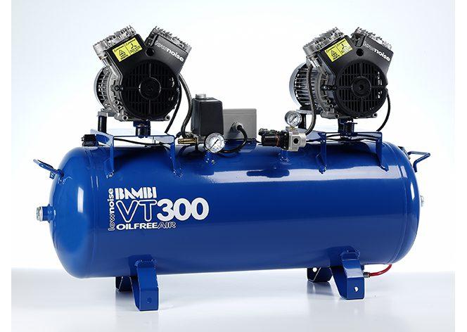 Bambi Vt 300d Oil Free Compressor Hague Dental Supplies