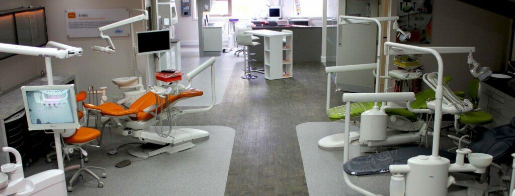 The Hague Dental equipment showroom