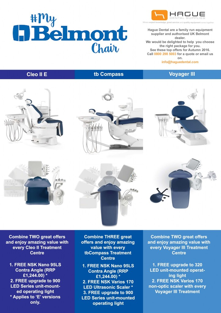 belmont dental chairs offer