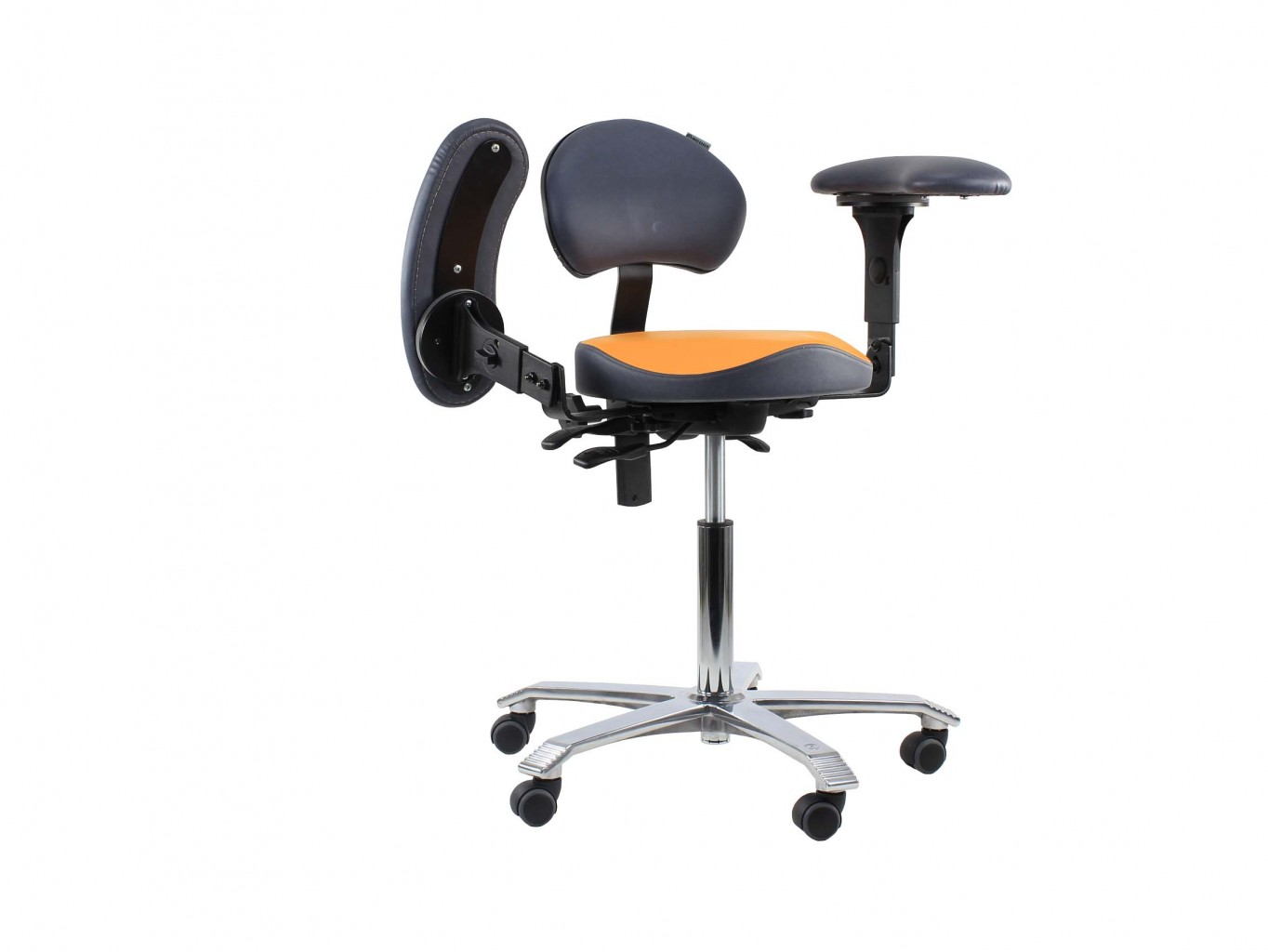 Dental Stool With Armrests Amp Back Support Trials Available