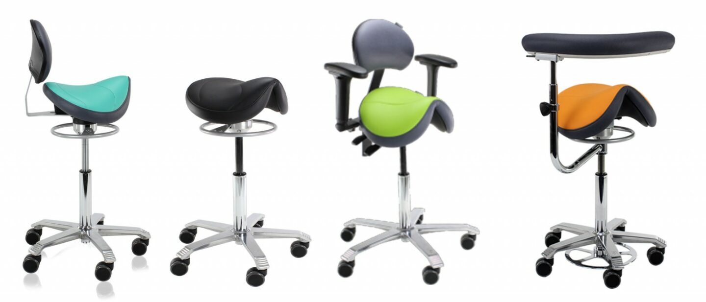 score dental saddle stools