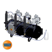 Cattani Compressor suitable for 14-18 dental surgeries