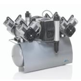 Durr Quattro Tandem suitable for large practice and laboratories