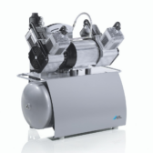 This Durr Trio Compressor is suitable for 3 workstations