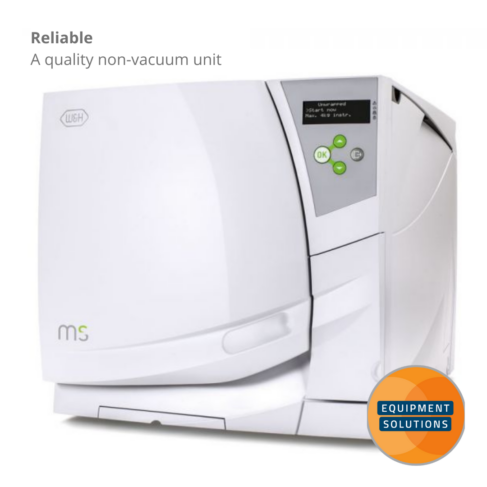 The W&H MS is a reliable Non-Vacuum Autoclave