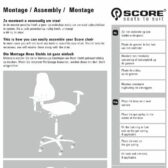 How to assemble you Score Stool