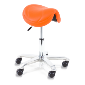 Score Saddle stool with tilt