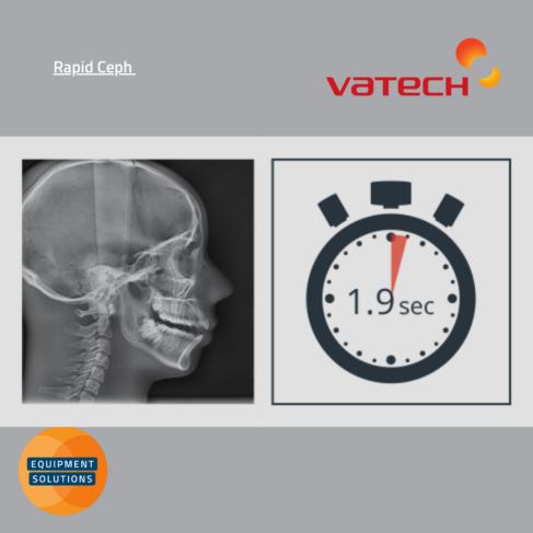 Vatech PaX-i plus OPG with rapid Ceph