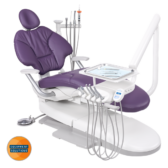 A-dec 400 Dental Chair with Traditional Hanging Delivery.