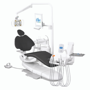 A-dec 500 Dental Chair with traditional hanging delivery