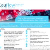 Recommission of EauFlow