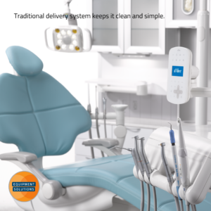 A-dec 500 Dental Chair with Traditional delivery.