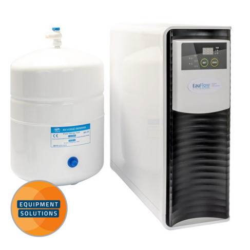 The Eau Flow is a dental reverse osmosis that is compact