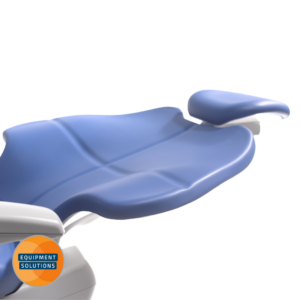 The A-dec 500 offers seamless upholstery