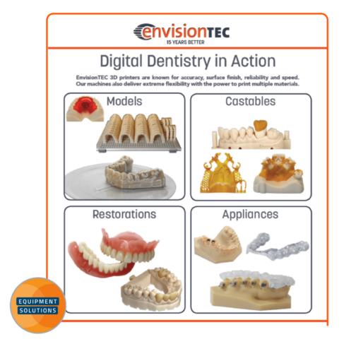 Envision One Dental 3D Printer for advanced Digital Dentistry