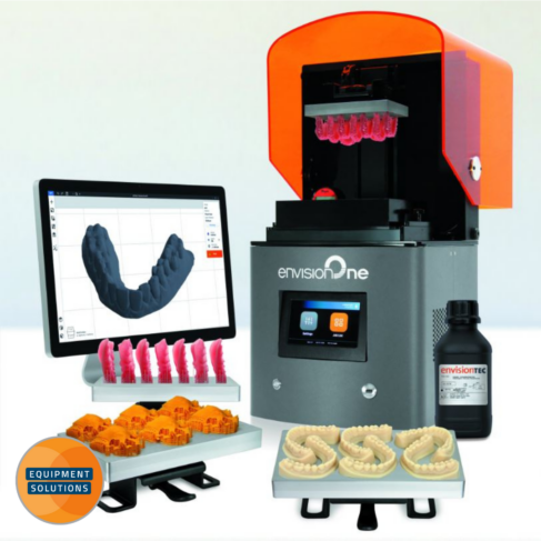 Envision One Dental 3D Printer offers a range of products for chairside / one-day dentistry