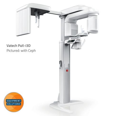 Vatech PaX-i 3D CBCT pictured with Ceph Arm