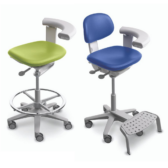 A-dec 522 Nurses Stool with a few options.