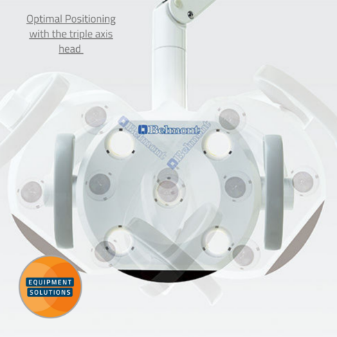 Belmont 300 LED Light with a 3 Axis Pivot