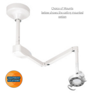 Belmont 900 LED Light with a ceiling mount