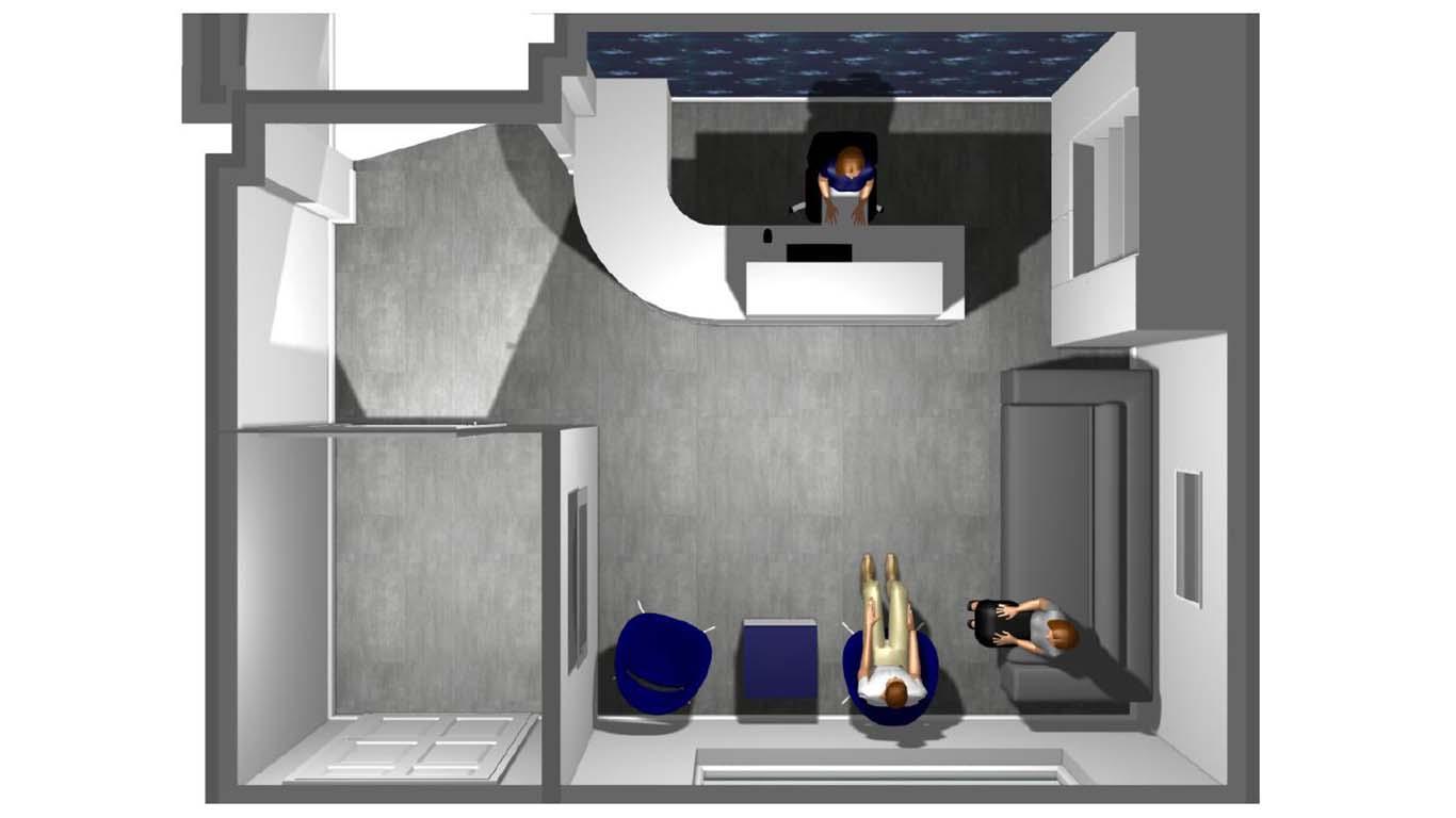 Dental Reception Design 3D CAD Concept