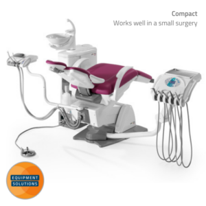 Fedesa Electra Ambi Dental Chair is ideal for square surgeries.