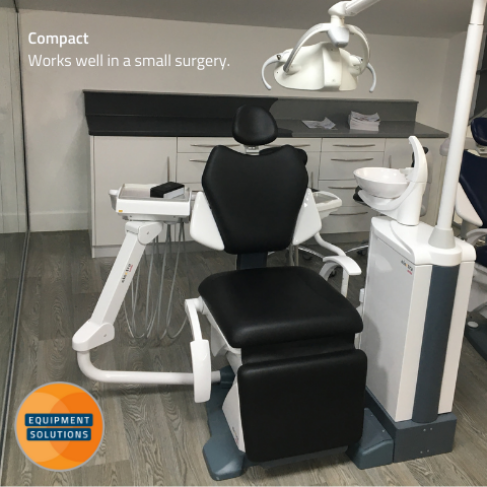 Fedesa Electra Ambi Kneebreak Chair is ideal for a small dental surgery.