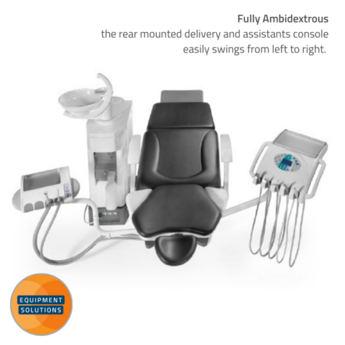 Fedesa Ambi Dental Chair is a fully ambidextrous unit.
